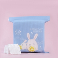 Buy cheap Disposable Cosmetic Facial CottonPad Makeup Remover Pads from wholesalers