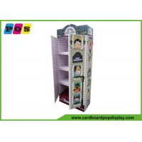 China ODM / OEM Stand Up Product Cardboard Pop Displays For Clothes Promotion on sale