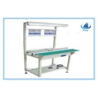 Quality 1.6 meters LED SMT PCB Conveyor- with light stand LED bulb light pcb conveyor for sale