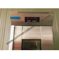 Quality 2 Doors Bread Dough Proofer Automatic Control High Thermal Insulation for sale