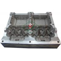 Quality Aluminium Egg Box / Clam Shell  Dies 6 Cavities Pulp Mould with High Precision for sale
