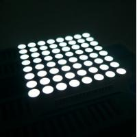 Quality Message Board 8x8 Dot Matrix LED Display High Brightness for Video for sale