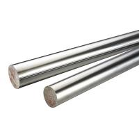 Quality 45 # / 304 Stainless Steel Chrome Piston Rod , Different Diameters Cylinder Piston Rod for sale