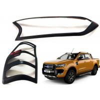 Quality Head Lamp Tail Lamp Bezels and Handle Garnish for 2016 2018 Ford Ranger T7 for sale