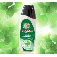 Quality Refreshing SPA Perfumed Shower Gel for Lady , Green Tea Bath and Body Products for sale