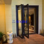 Quality European Style double glazed Aluminum Folding Doors For Building Contractors for sale