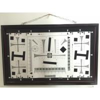Quality Camera test chart 2000 lines iso 12233 standard test chart for resolution, MTF, TV line test for sale