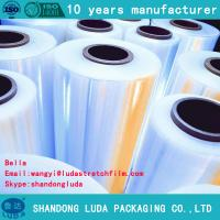 Quality stretch film wrapping machine stretch film good cling wrap for sale