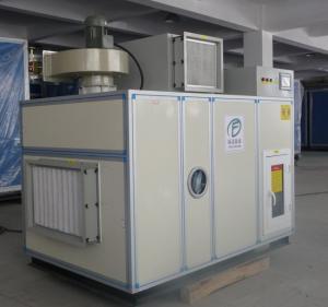 Energy Saving Silica Gel Dehumidifier Wheel , Steam Regeneration