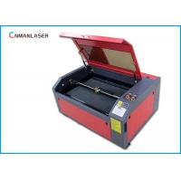 Quality 6040 50w CO2 Mini Cnc Laser Cutting Machine For Leather 50HZ / 60HZ for sale