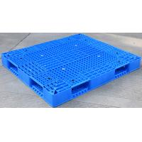 Buy Eco Friendly HDPE Plastic Pallets / Stackable Plastic Pallets With Reinforced Rims at wholesale prices