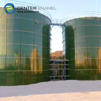 Quality Center Enamel Glass Lined Liquid Storage Tanks With Excellent Corrosion Resistance for sale