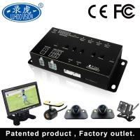 Quality Vehicle DVR Camera System , 4 Channel Car Camera System 170 Degree View Angle for sale