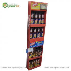 China Cardboard Paper Displays, Gumout Sidekick Cardboard Display on sale