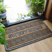 Quality Simple Large Front Door Welcome Mats Non Bruch Rubber Slip Resistance for sale