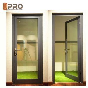 High Strength Durable Aluminium Hinged Doors With PVDF Surface Treatment