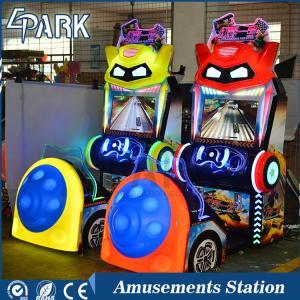 Quality Indoor amusement park amazing experience Otrazhenie Pervoye 22inch kids car racing game machine for sale
