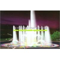 Quality Decorative Floor Water Fountain Equipment , Customize Land Water Dry Fountain for sale
