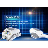 Quality MED - 110C 6 Treatment Programs IPL Hair Removal Machines With 12 Languages for sale