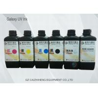 China 1 Liter Brilliant Color LED UV Ink , DX5 / Ricoh / Konica UV Inkjet Printer Ink on sale