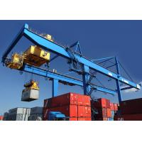 China Rail Mounted Shipping Container Crane 50 Ton For Harbor / Containers Stockyard on sale