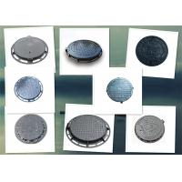 Quality Customized Size Circular Drain Cover Heavy Duty Sand Casting Burglar Proof for sale