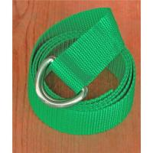 China D-ring titanium (nickel-free) buckles on webbing belt CB0236 on sale