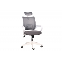 Quality Custom Backrest 55cm Comfortable Mesh Office Chair for sale