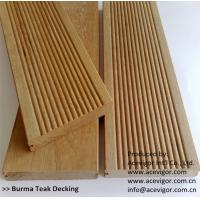 China Outdoor Burma Teak decking on sale