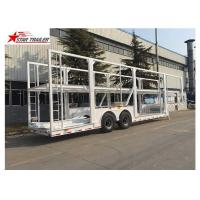 Quality Rust - Proof Protection Car Carrier Trailer Wth LED Electrical System for sale