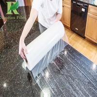 Quality 0.03-0.2mm Customized Adhesive Granite and Marble Protective Film for sale