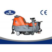 Quality Intelligent Stone / Ceramic Tile Floor Cleaning Scrubber Machine Battery Powered for sale