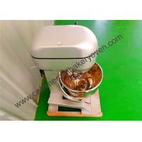 Quality Stainless Steel Catering Food Mixer , Low Noise Bakery Planetary Mixer for sale
