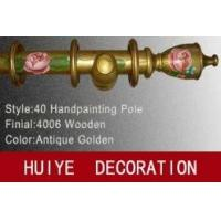 Buy cheap Antique Gold Handpainting Pole (CurtainRods / CurtainTracks) from wholesalers