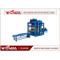China Cement Concre Automatic Brick Making Machine , Brick Making Equipment / Forming Machine on sale