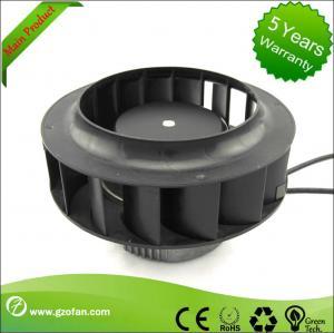 Buy cheap Backward Curved EC Motor Fan / Centrifugal Exhaust Fan Blower High Volume from wholesalers