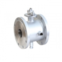 China ASME B16.34 Soft Seal Flange Connected Jacketed Ball Valve on sale