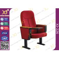Buy Wooden Back Cold Rolled Steel Feet Auditorium Theatre Seating Chair at wholesale prices