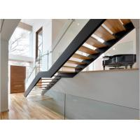Quality Internal stair residential prefabricated wooden staircase interior wood stairs for sale