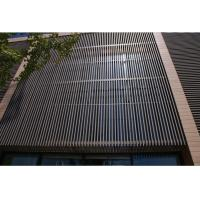 Quality UV Resistant Waterproof WPC Wall Cladding Panel For Room Roof / Garden Draining for sale