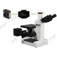 Quality Metallurgical Trinocular Inverted Microscope 100X - 1000X With 6V20W Halogen Bulb for sale