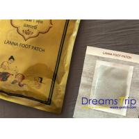 Quality Thai Cleansing Detoxification Foot Pads Patch Purify Herbal Single Foil Pouch Pack for sale