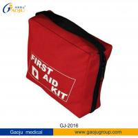 Quality GJ-2016 Nylon Material Medium Size Office / Home First Aid Kits For Inside / Outside for sale