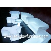 Quality Shinning Angel Double LED Sofa for outdoor garden , led lighted furniture for sale