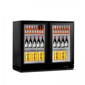 Quality Glass Door Mini Bar Fridge Beer Chiller Drink Cooler For Hotel for sale