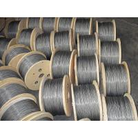 Quality Dia 3mm Galvanized Steel Wire Rope 1960MPA , 7x7 Stainless Steel Wire Rope for sale