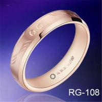 Quality Hot sales hand engraving&rose gold plated TUNGSTEN WEDDING RINGS fashion mens rings wedding bands for sale
