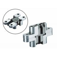 Quality Self Closing Stainless steel Concealed Hinge with spring inside for Channel gate for sale