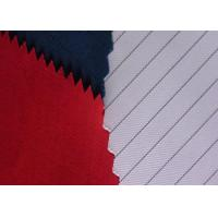 Quality Soft Polyester Cotton Twill Fabric Anti Static Filament Yarn 2% Carbon Fiber for sale