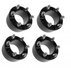 "3"" BLACK Wheel Spacers 6x139.7 Fits Chevy Silverado 1500 Tahoe Suburban, 75mm wheel spacers"